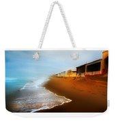 Spanish Beach Chalets Weekender Tote Bag