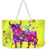 Spanish Bull  Toro Bravo Weekender Tote Bag