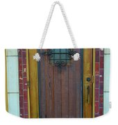 Spanish Door Weekender Tote Bag