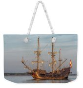 Spanish Galleon Weekender Tote Bag