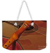 Spanish Guitar And Flute Weekender Tote Bag