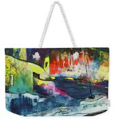Spanish Harbour 01 Weekender Tote Bag