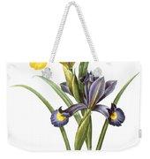 Spanish Iris Weekender Tote Bag