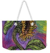 Spanish Sunflower Weekender Tote Bag