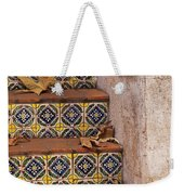 Spanish Tile Stair  Weekender Tote Bag