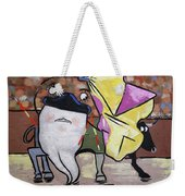 Spanish Tooth Weekender Tote Bag
