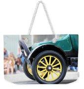 Spare Tire Weekender Tote Bag