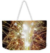 Spark Of The Fountain Weekender Tote Bag