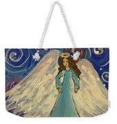 Sparkle Angel Weekender Tote Bag