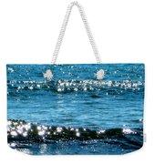 Sparkle Waves  Weekender Tote Bag