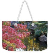 Sparkling Autumn Reflection Weekender Tote Bag