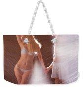Sparkling Dance Weekender Tote Bag