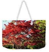 Sparkling Japaneese Maple Tree Weekender Tote Bag
