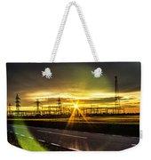 Sparkling Sun Weekender Tote Bag