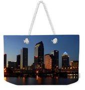 Sparkling Tampa Bay Weekender Tote Bag