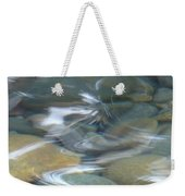 Sparkling Water On Rocky Creek 1 Weekender Tote Bag