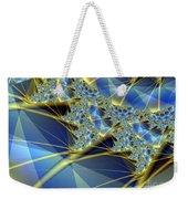 Sparkling Web Weekender Tote Bag