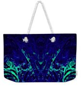 Sparkly Blues In. A Weekender Tote Bag