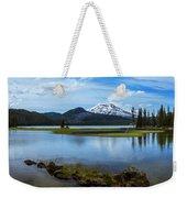 Sparks Lake, Oregon Weekender Tote Bag