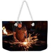 Sparks When Blacksmith Hit Hot Iron Weekender Tote Bag