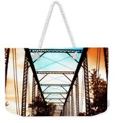 Sparksville Bridge Weekender Tote Bag