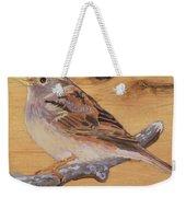 Sparrow 2 Weekender Tote Bag