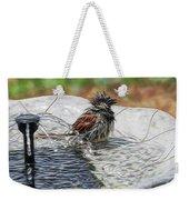 Sparrow Bath Time 9242 Weekender Tote Bag