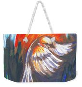 Sparrow In Flight Two Weekender Tote Bag