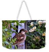 Sparrow In The Shrubs Weekender Tote Bag