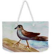 Sparrow On A Branch Weekender Tote Bag
