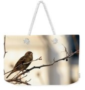 Sparrow On A Limb Weekender Tote Bag