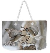 Sparrows Weekender Tote Bag