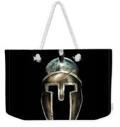 Spartan Helmet Weekender Tote Bag