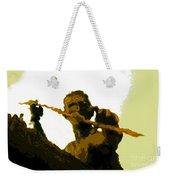 Spearfishing Man Weekender Tote Bag