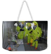 Specialists Survey A Simulated Area Weekender Tote Bag