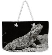 Speckled Iguana Lizard Weekender Tote Bag