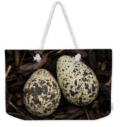 Speckled Killdeer Eggs By Jean Noren Weekender Tote Bag