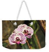 Speckled Orchids Weekender Tote Bag