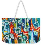 Spectators. Anticipation. Weekender Tote Bag