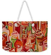Spectators. Confident. Weekender Tote Bag