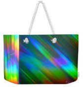 Spectral Curtain Weekender Tote Bag
