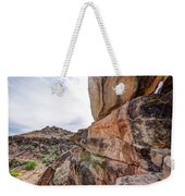 Spectral Light On The Cliffside Weekender Tote Bag