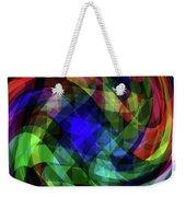 Spectrum Swirls Weekender Tote Bag