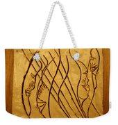 Speech Trails - Tile Weekender Tote Bag