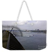 Speed Boats On The East River Weekender Tote Bag