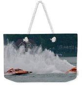 Speedboat Trials 1961 Weekender Tote Bag