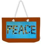 Spelling Peace Weekender Tote Bag
