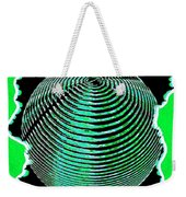 Sphere In Green Weekender Tote Bag
