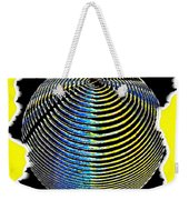 Sphere In Yellow Weekender Tote Bag