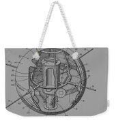 Spherical Satellite Structure Patent 1957 Weekender Tote Bag